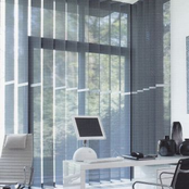 Luxaflex Vertical Transparent Screens - 127mm